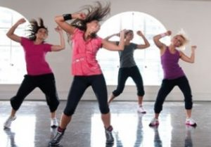 Image of a Dance Fit Fusion class example