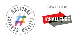 NCS Logo and Challenge logo for Calling All Windhill Kids event