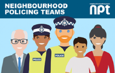 Crime Prevention and Neighbourhood Policing Teams.